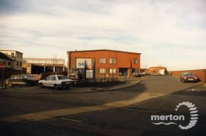 Chelsea Fields factory estate
