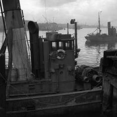 Fishing Boat on the Quayside at South Shields