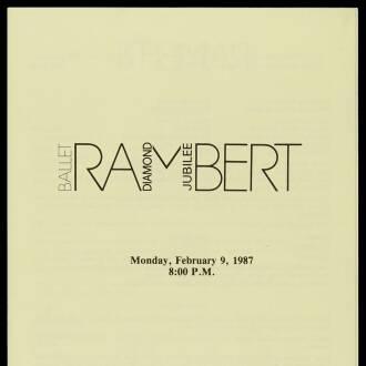 Jorgensen Auditorium, University of Connecticut, Storrs, USA, February 1987 - P03