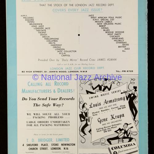 Jazz Illustrated Vol.1 No.3 January 1950 0011