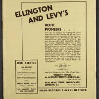 Duke Ellington Orchestra British Tour – July 1933 014