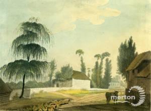 The village of Morden, Surrey