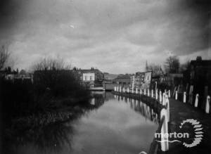 Bridge over the River Wandle: Thought to be Merton