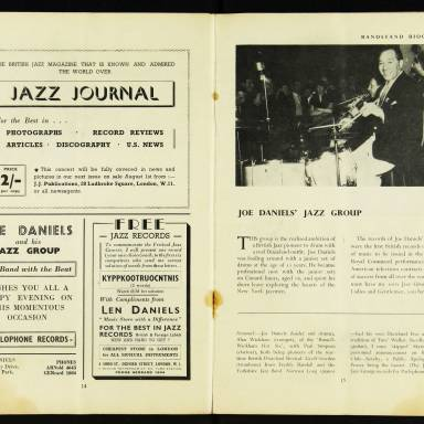 National Federation of Jazz Organisations, Royal Festival Hall - 1955 009