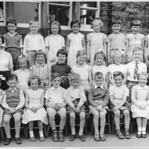 Burncross Infants Class of 6-7 year olds, 1958 -59