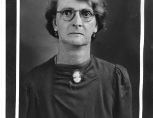 1952-1953, Jane Grundy, Chair of Tyldesley Urban District Council
