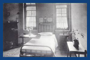 Private room at Nelson Hospital, Kingston Road, Merton Park