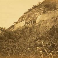 Bhore Ghat retaining wall