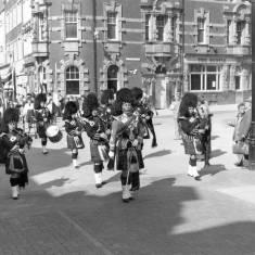 Folkmoot  Festival opening Parade.