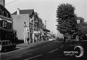 Upper Green West, Mitcham: Seen from Western Road