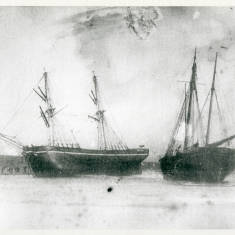 Brig George Clark and Ketch Ida