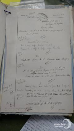 War Office Records - James Fraser Glass