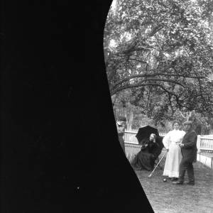 G36-354-01 People in a garden playing croquet (part plate only).jpg