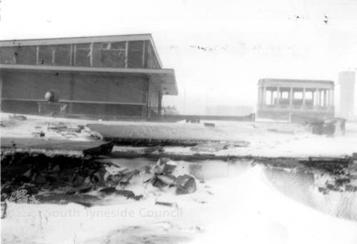 Damage to South Foreshore, South Shields
