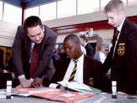 Wimbledon College: Visit by Stephen Twigg M P