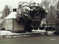 The Canons - Snow on the dovecote