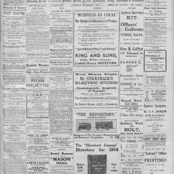 Hereford Journal - 5th September 1914