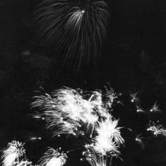 Mardi Gras Fireworks Display