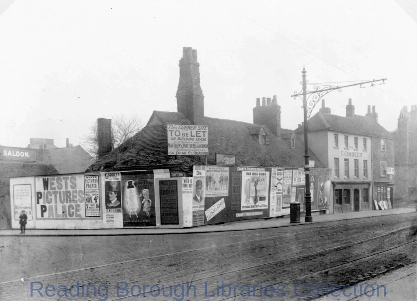 The Corner of Southampton Street and Mill Lane