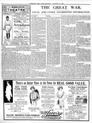 21 NOVEMBER 1914