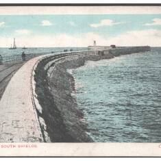 Postcards: Mouth of the Tyne, South Pier and Beaches
