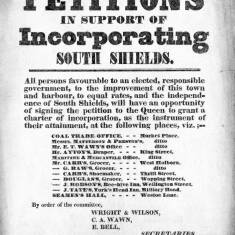 Petitions in Support of Incorporating South Shields