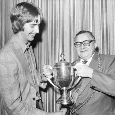 Presentation of the Amusement Park Trophy, South Shields