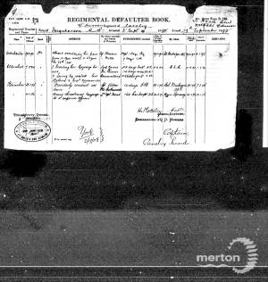Service Record - Harry Reginald Farquharson