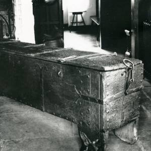 Avenbury church, chest