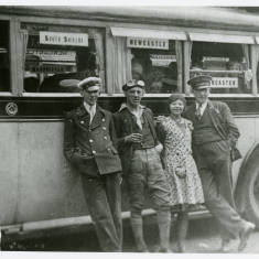Bus and crew