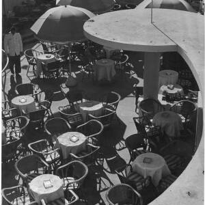 198 - Looking down on Café Scene