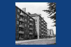 Glebe Estate, Mitcham Road:  From London Road