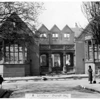 Waterloo Carnegie Library, Church Road, 1941