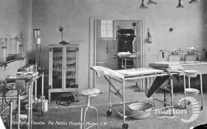 Operating Theatre,  Nelson Hospital, Kingston Road, Merton Park