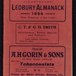 Tilley's Ledbury Almanack 1954