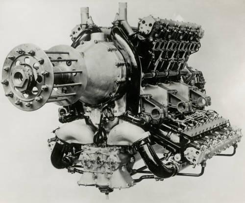 Cub engine: Napier