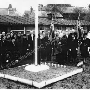 British Legion members at High Green.
