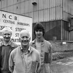 Marsden Mechanics Lodge members at NCB Whitburn
