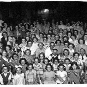 St Marks Church Coronation Party 1953