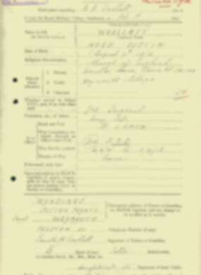RMC Form 18A Personal Detail Sheets Aug 1935 Intake - page 224