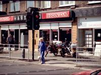 Hartgate motorcycle shop, Fair Green, Mitcham