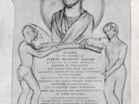 Tablet to the memory of Joseph Marryat, M P, St. George's, Grenada