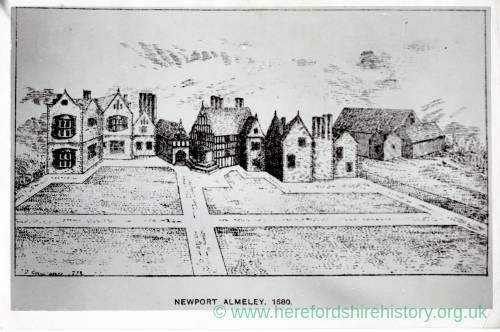 Almeley Newport, 1680