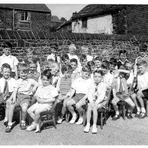 Grenoside Infant School May Day c1950.