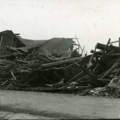 Clayton and Armstrong Timber  Bomb Damage