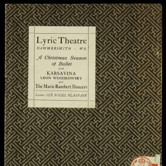 Lyric Theatre, Hammersmith, London, December 1930–January 1931