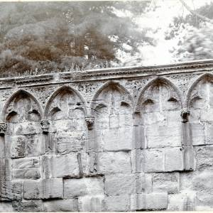 Cathedral, remains of Chapter House