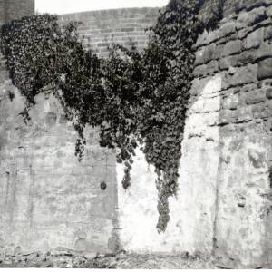 Medieval City Wall, Hereford, 1939