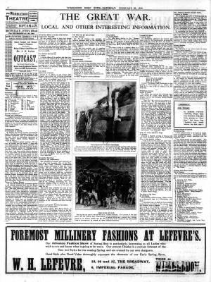 20 FEBRUARY 1915