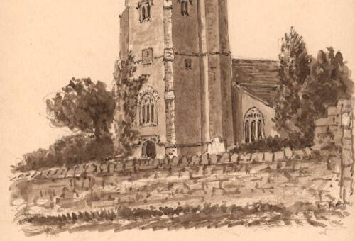 Kilmington Church, 28 Oct 1901, Kilmington